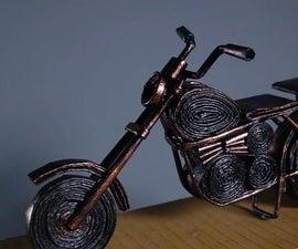 Newspaper Roadster Bike