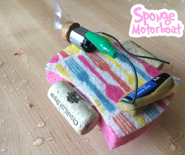 Sponge Motorboat