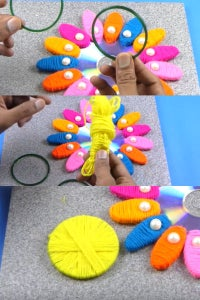 Let's Wrap the Bangle With Woolen Thread!
