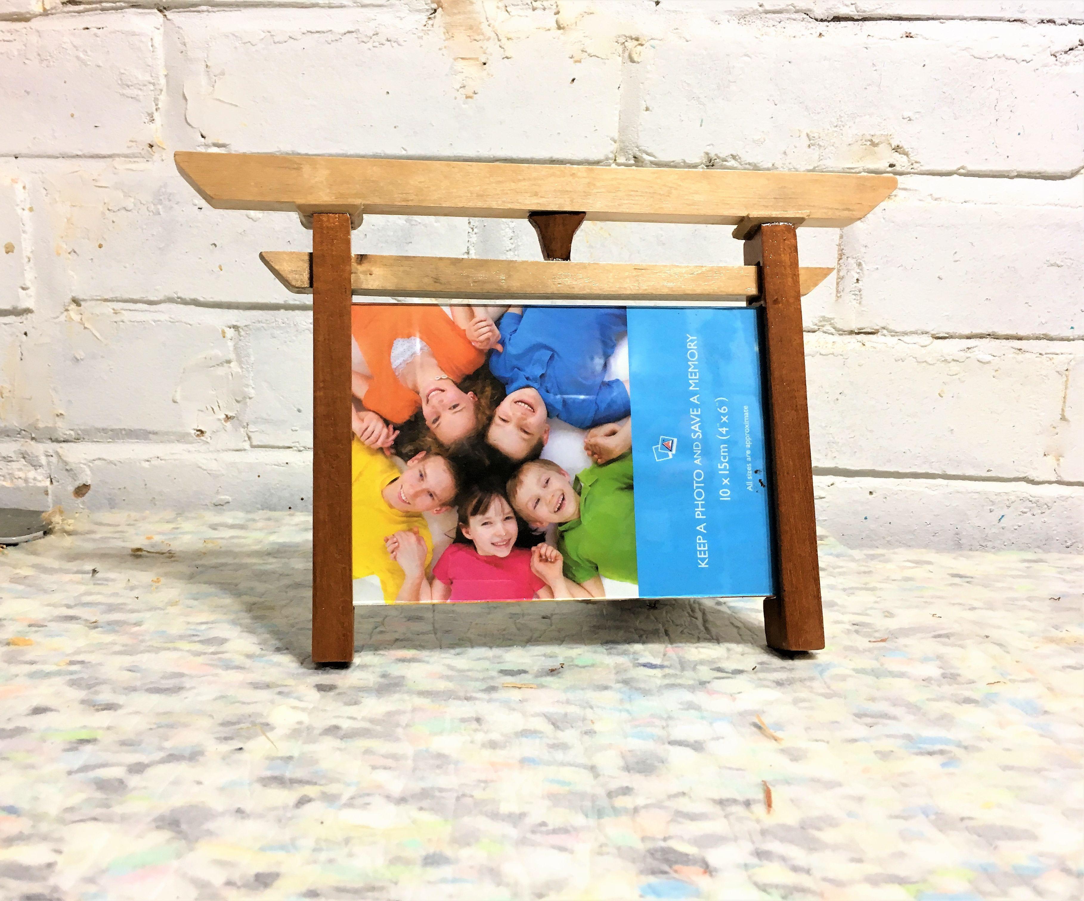 Torii Gate Picture Frame