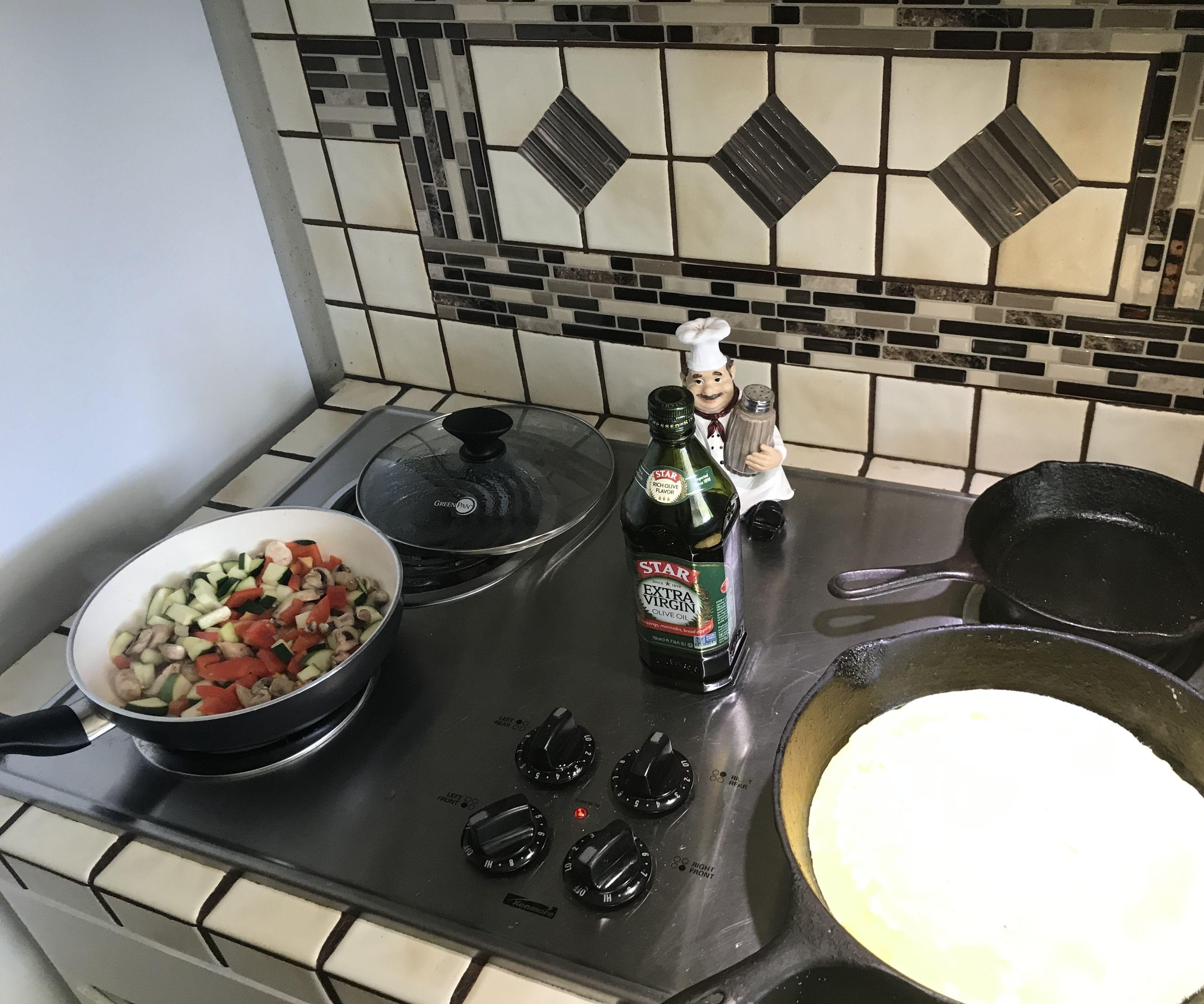 Veggie Omelette #HMS2020,