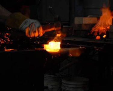 Forge Welding the Eye