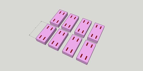 Cut Vertical Spacers