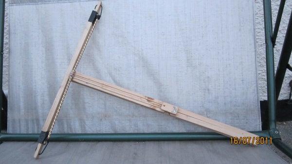 Wooden Crossbow/slingshot