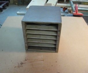 How to Store Your  Random Orbital Sander Discs in a Shopmade Box!