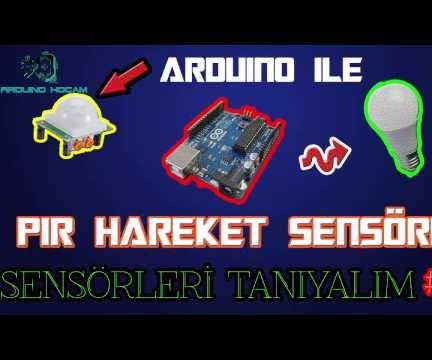 How to Use PIR Motion Sensor(HC-SR501)with an Arduino