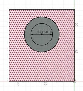Design Process - Stepper Motor Mount - Bearing Block - Lead Screw Cutout