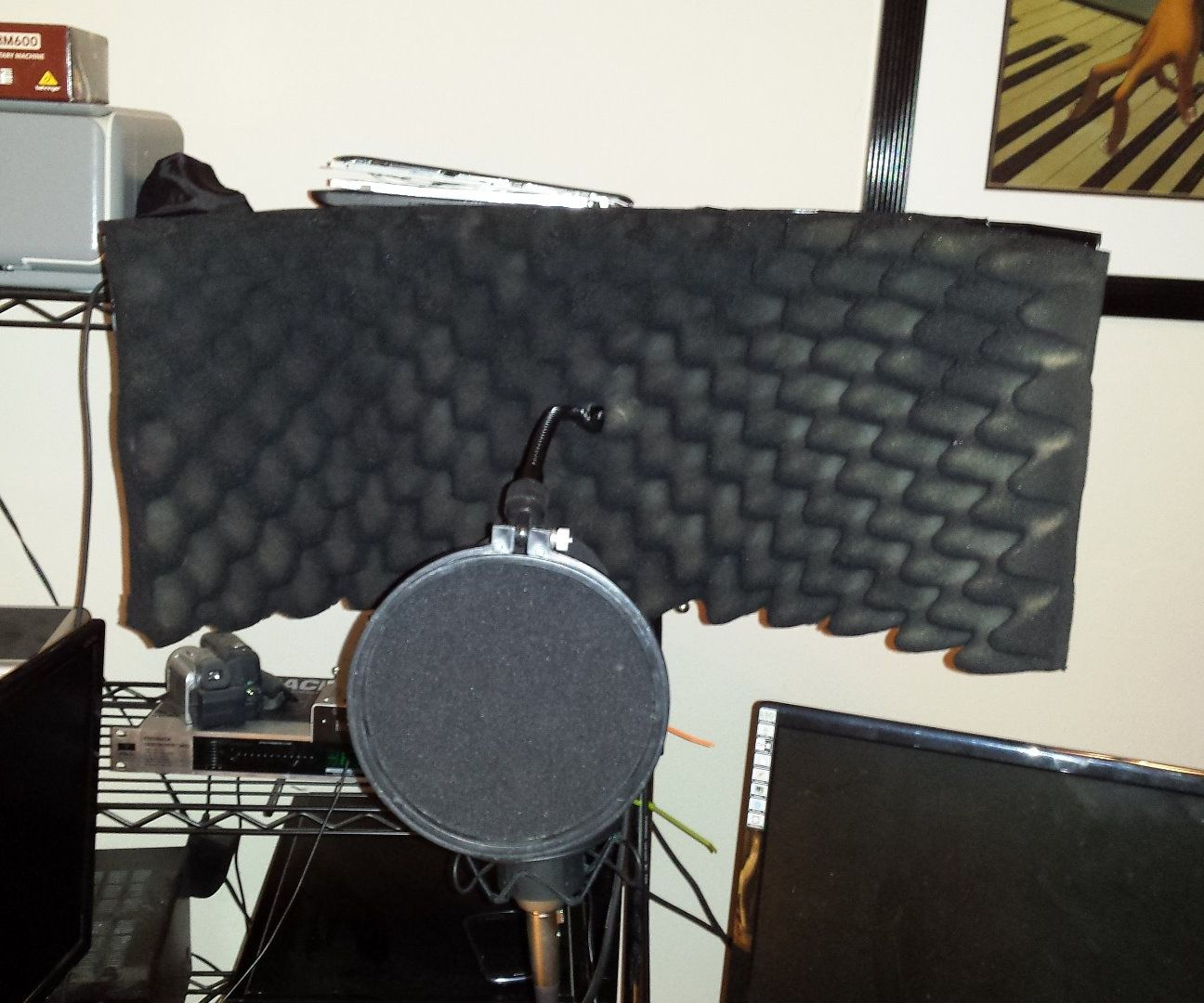 Microphone Reflection Filter