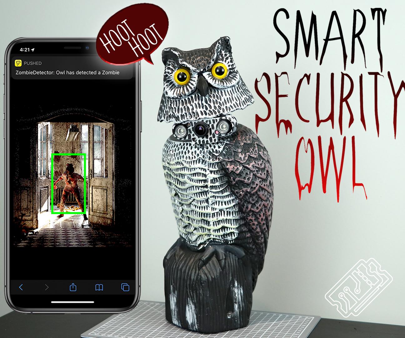 Smart Security Owl