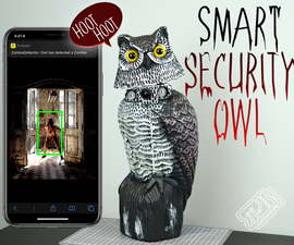 Zombie Detecting Smart Security Owl