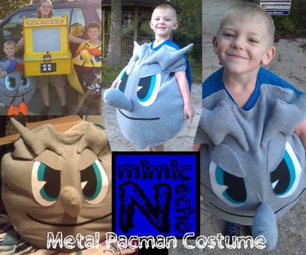 Metal Pacman Costume