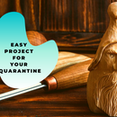 Wood Spirit Carving Tutorial I Easy Wood Carving Project for Your Quarantine