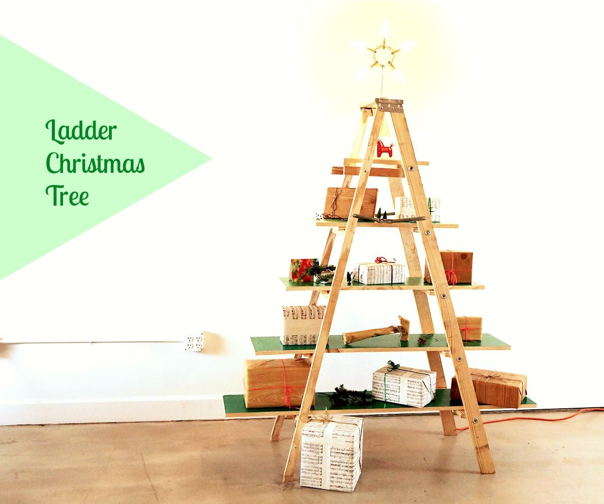 Ladder Christmas Tree 16 Steps With Pictures Instructables