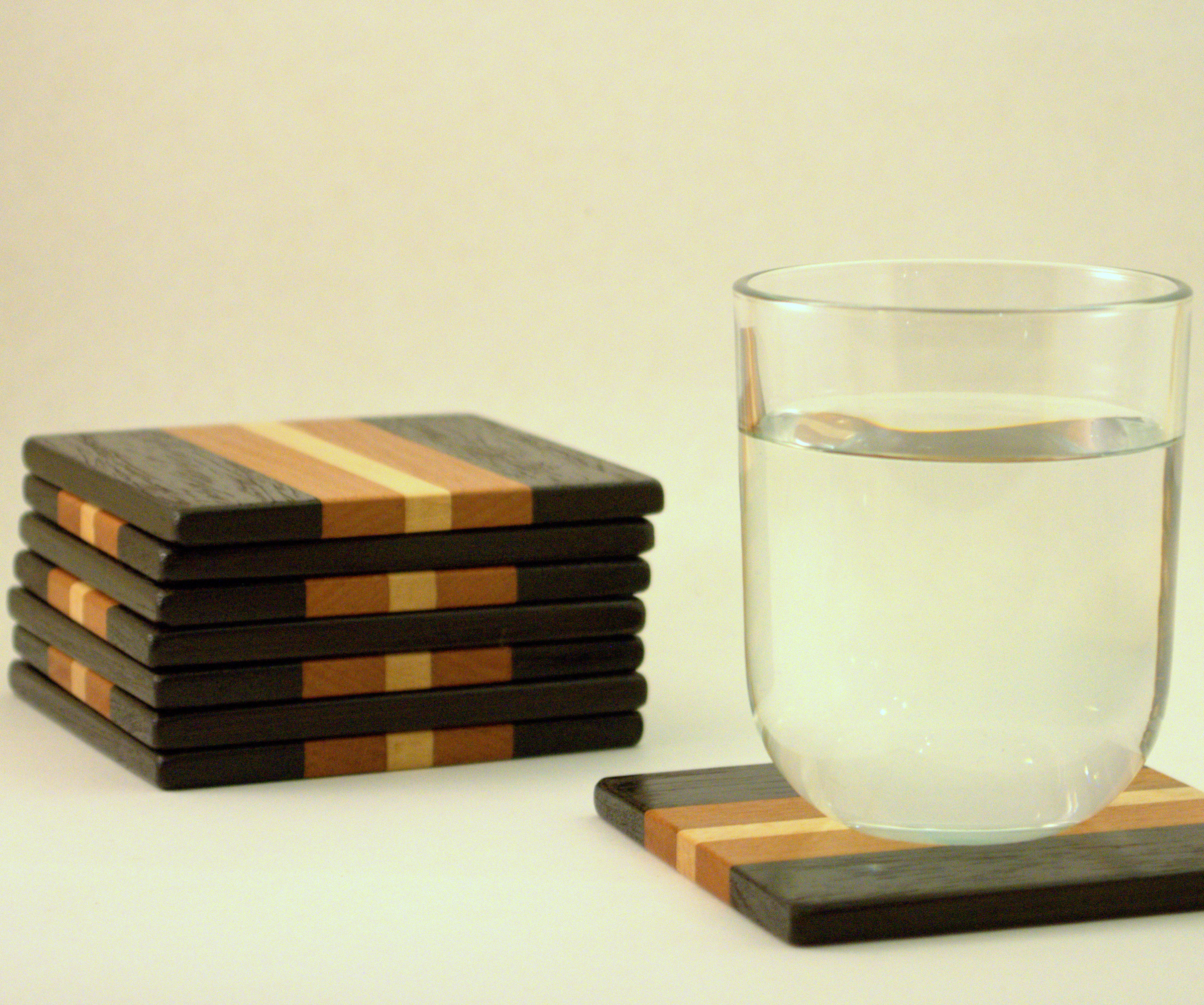 Wooden Drinking Coasters