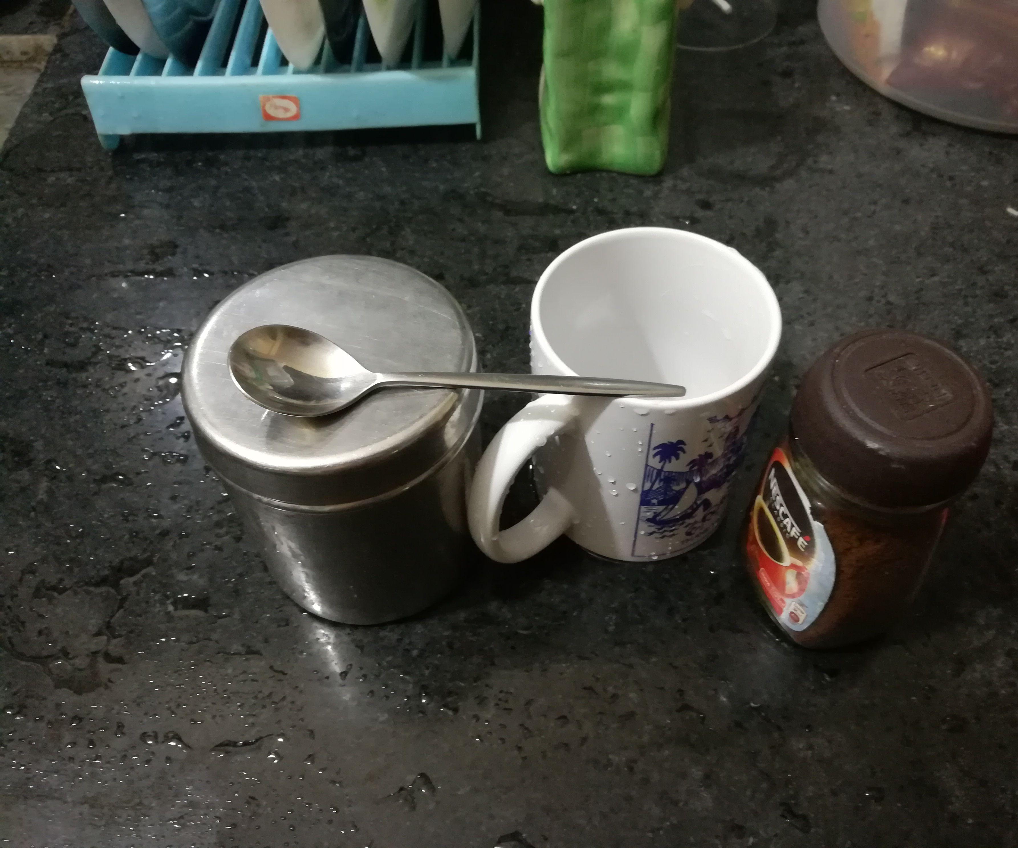 Instant Beaten Coffee With Nescafe