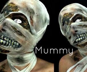 Mummy Makeup + Wrap
