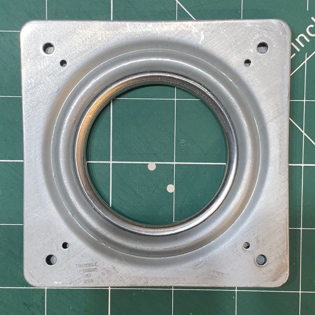 Attach a 'Lazy Susan' Turntable Bearing (optional)
