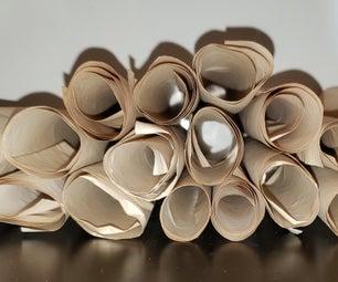 如何把打印纸变成羊皮纸
