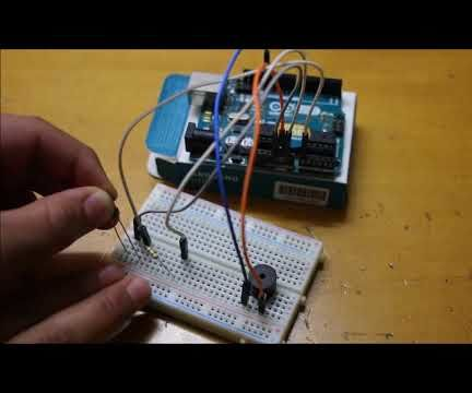 Intruder Alarm With Arduino