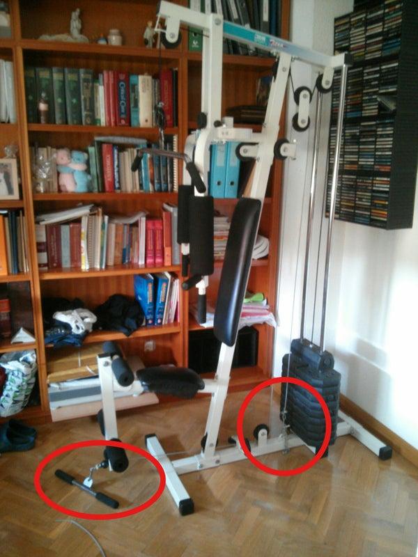 Cambiar Cable De Acero De Mi Aparato De Musculación