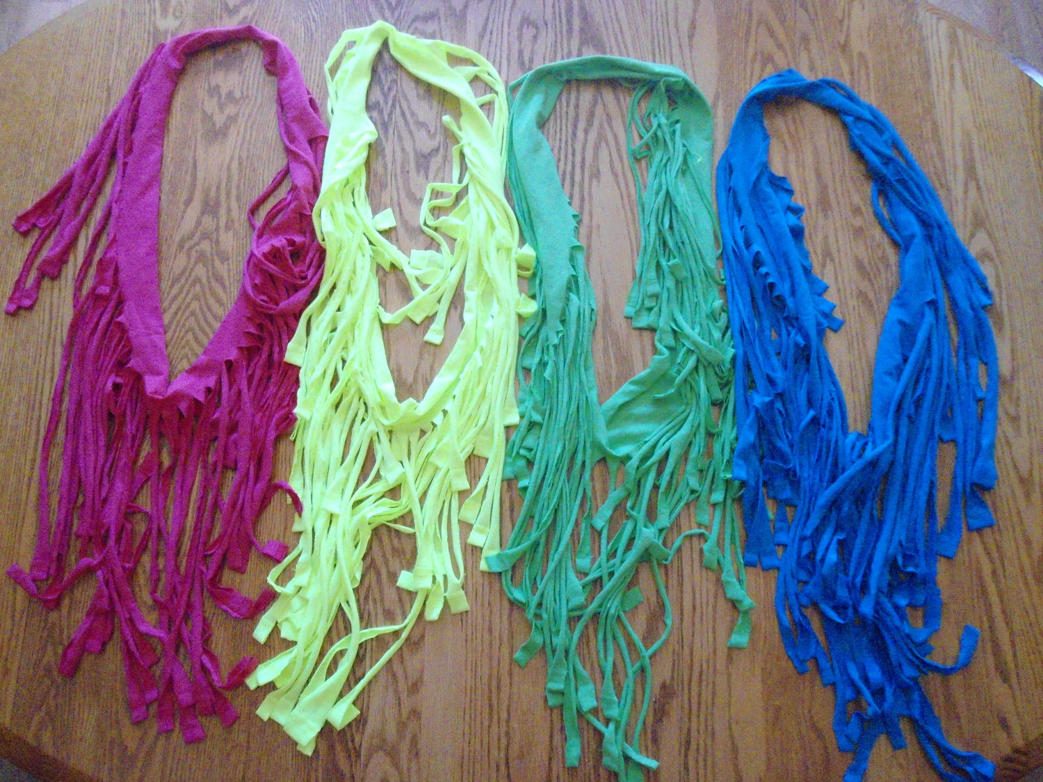 How To Make A Scarf From A Old T-shirt