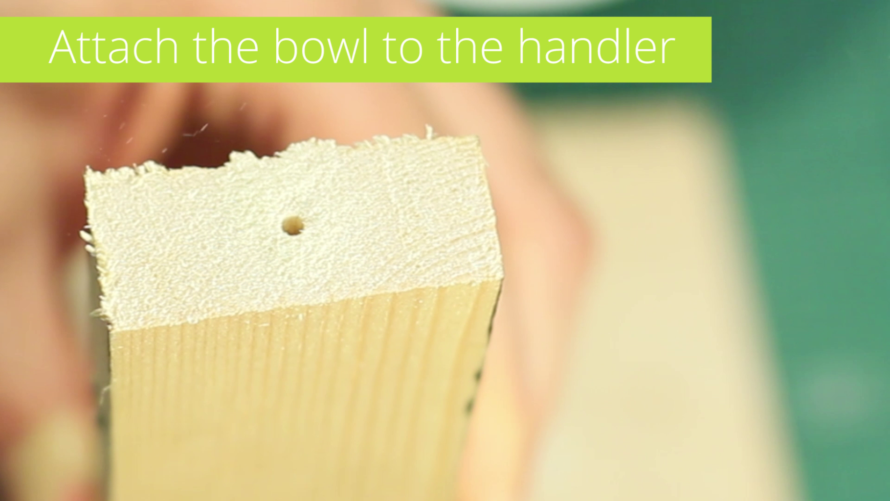 Attach the Bowl to the Handler