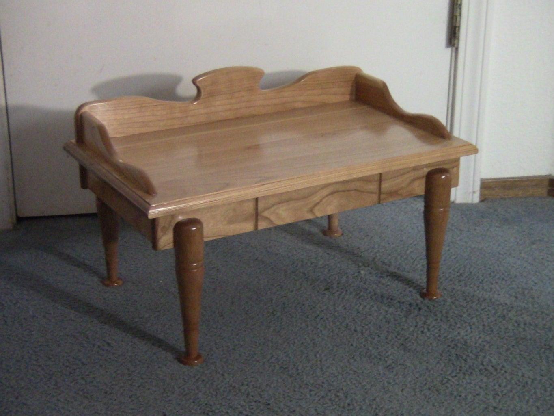 Miniature Cherry Wood Table