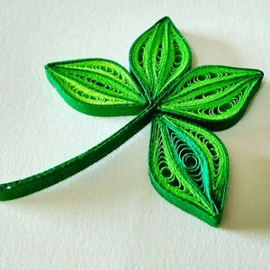 Leaves - Quilled Leaves and Tendrils