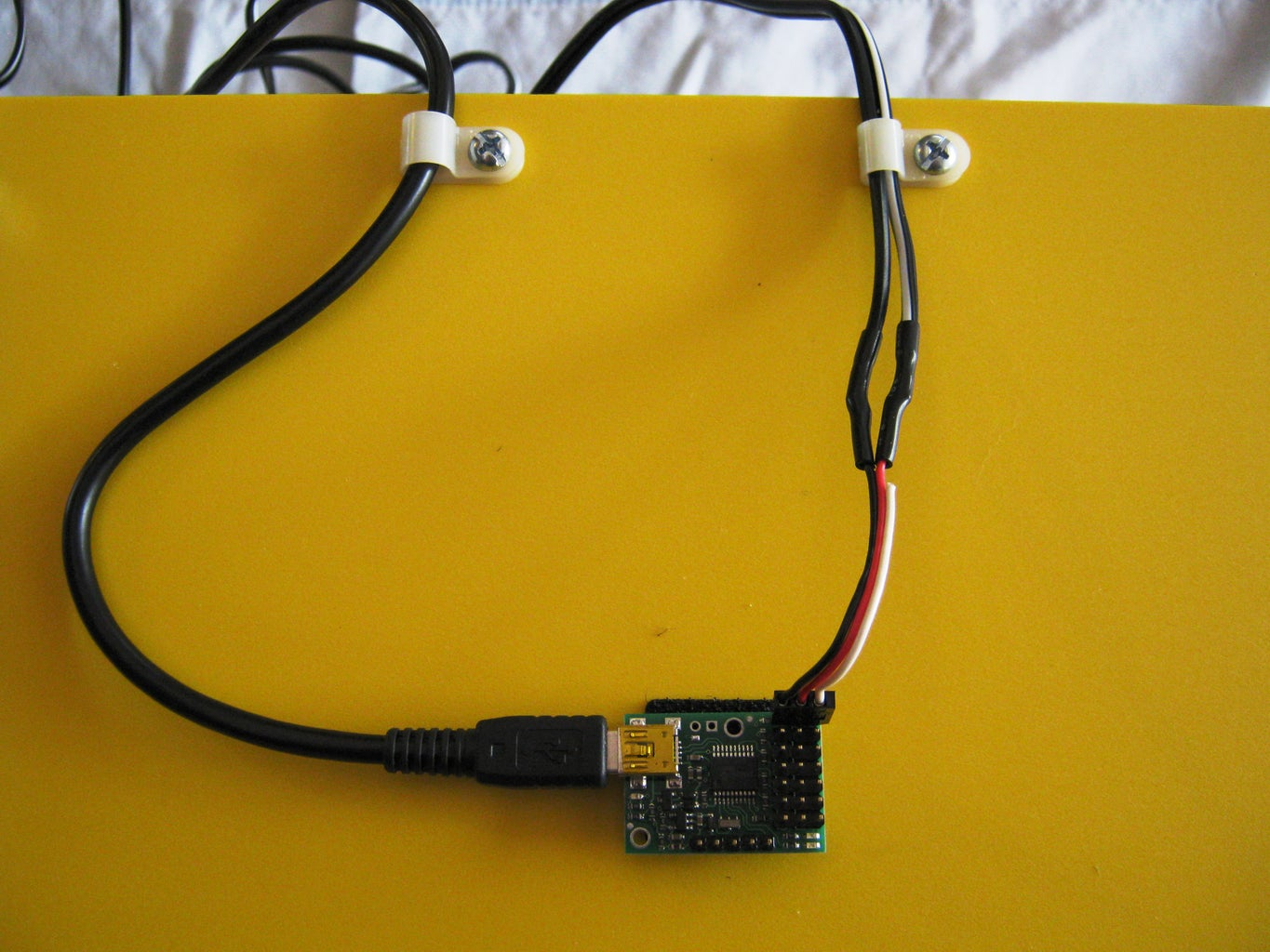 Mount the Microcontroller