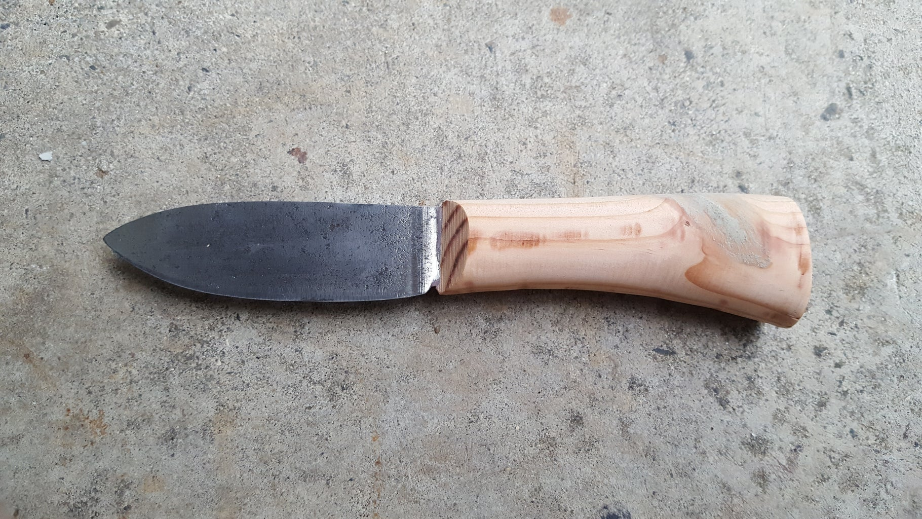 Making the Handle Scales + Shaping and Sanding