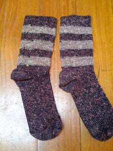 Wristlets From Socks in 3 Minutes