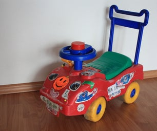 Car for Kids With Direction Indicators