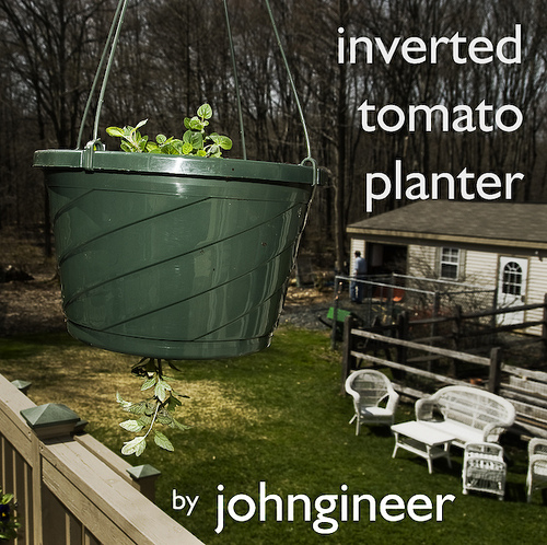 Inverted Tomato Planter