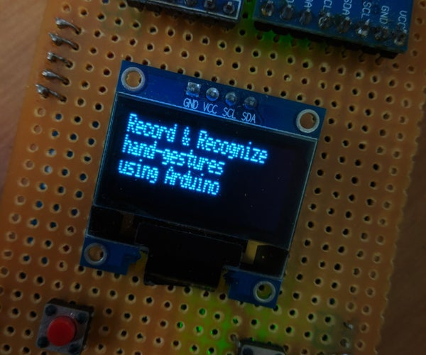 Gesture Controlled PPT Changer