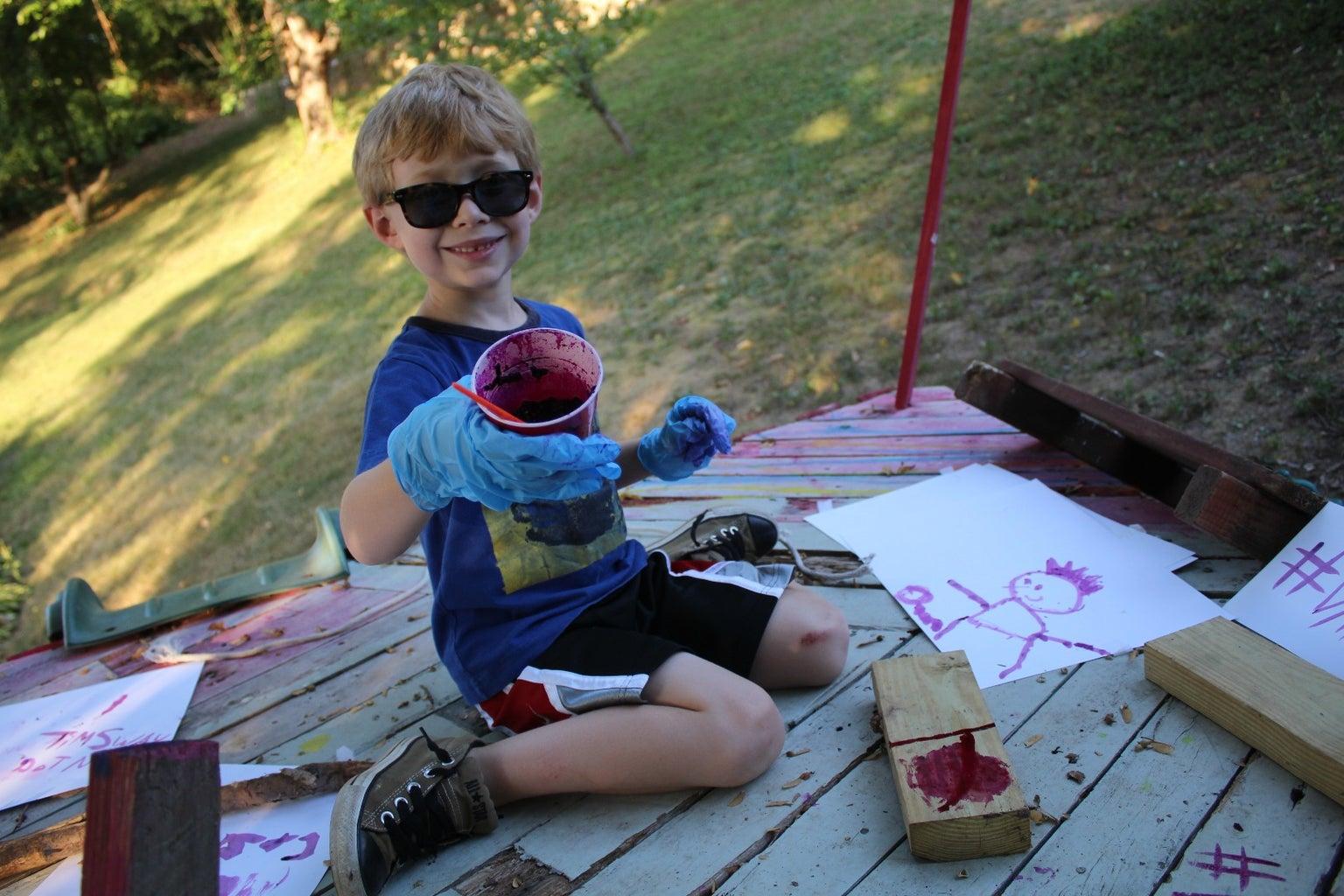 Poisonous Plant Paint - for Kids!