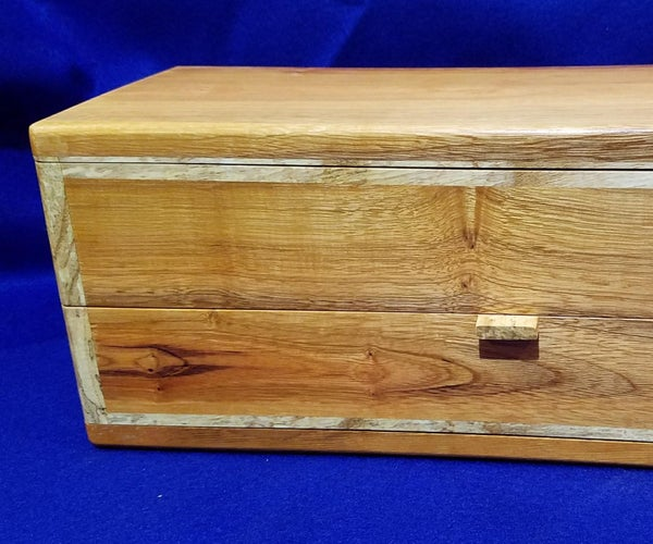 Buckthorn/Spalted Ash Jewelry Box