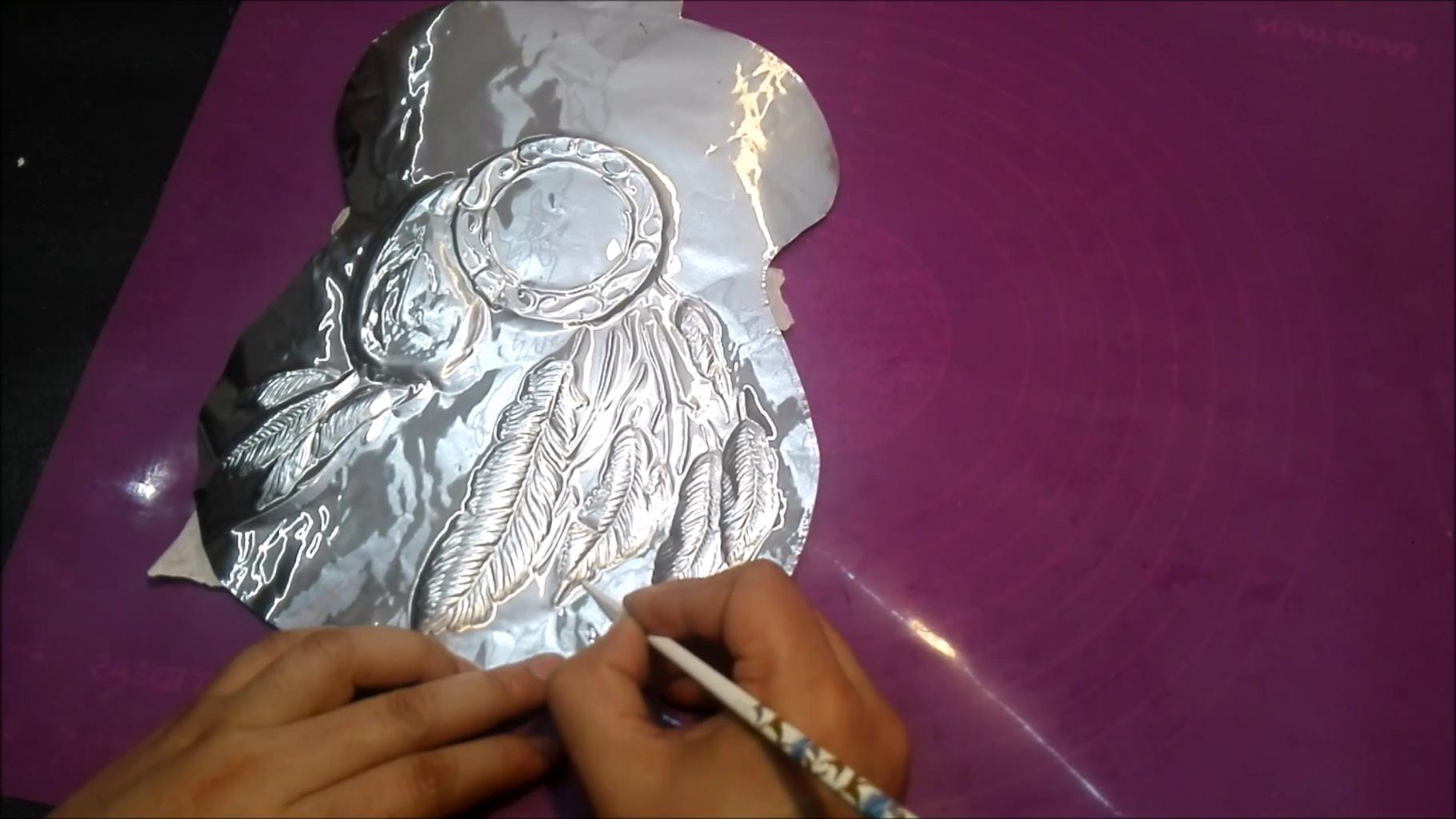 Cutting & Embossing on Aluminium