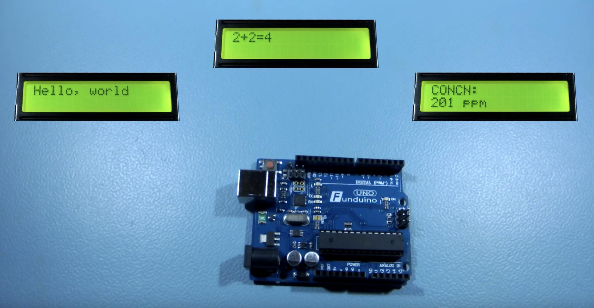LED Display Arduino