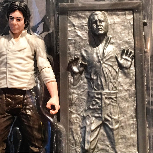 Han Solo in Carbonite LinkIt One Case: a Small Scan