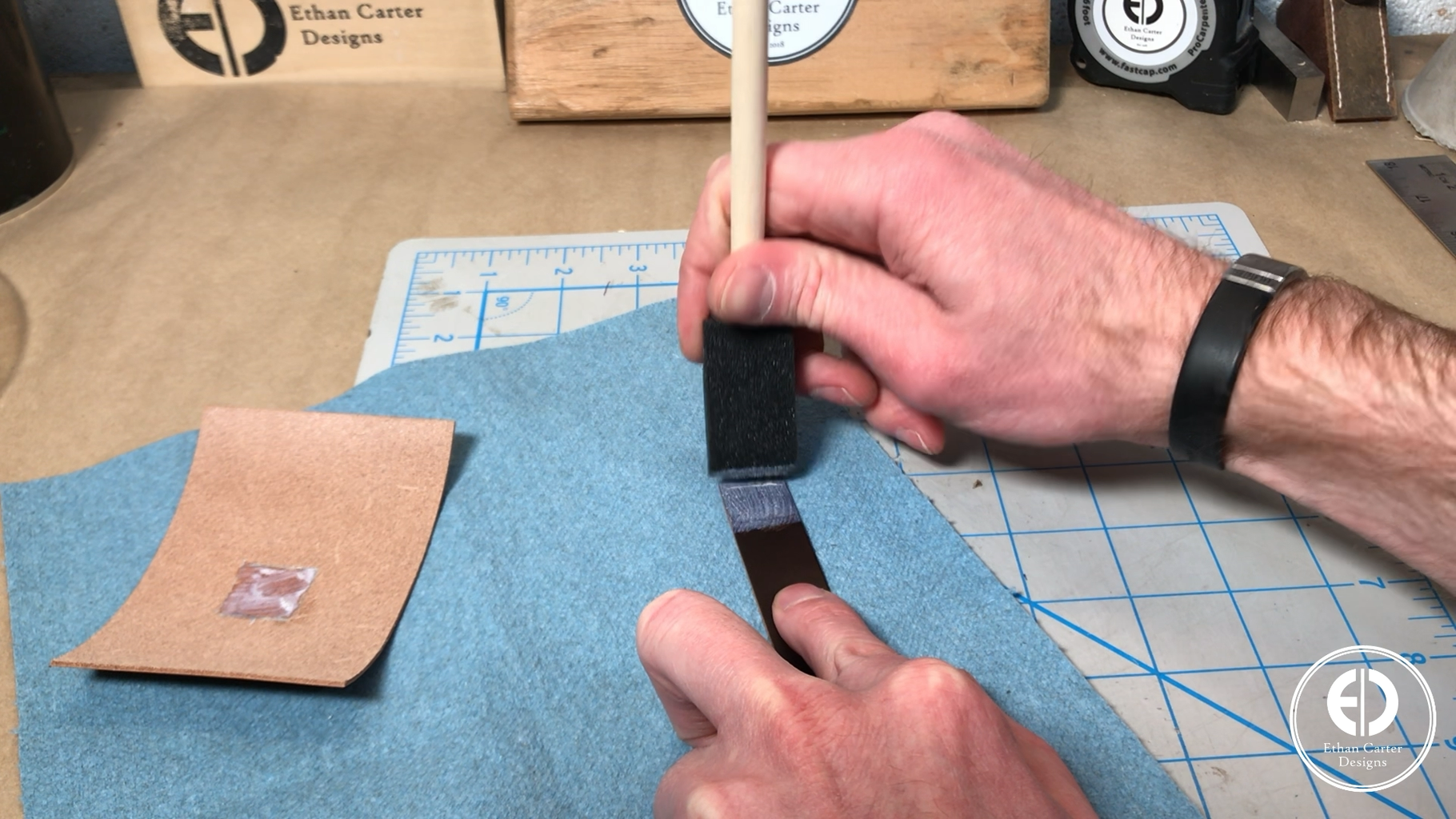 Attaching the Pull Tab