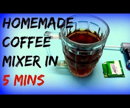 Homemade Pocket Electric Coffee Mixer #