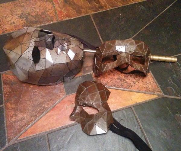 Steel Masks Based on a 3D Face Scan