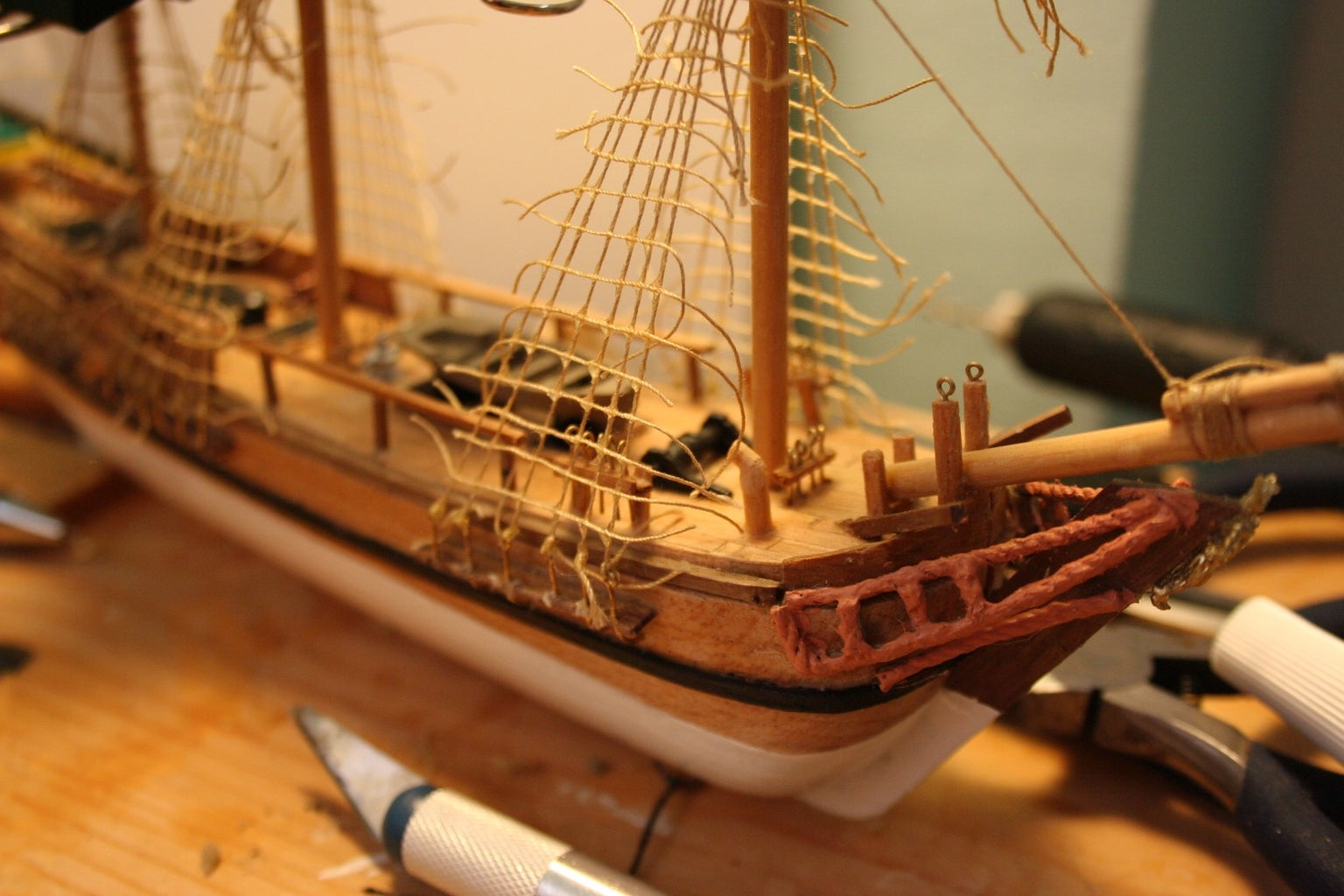 Masts, Sails and Rigging