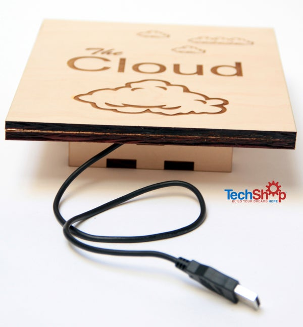 The Cloud: Information Storing Wall Art