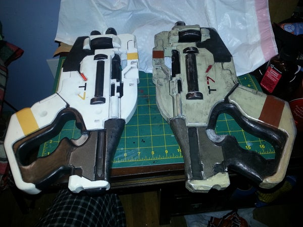 Foam Prop M-358 Talon From Mass Effect