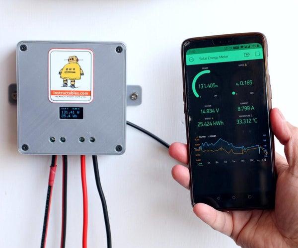 DIY太阳能电池板监控系统-V1.0