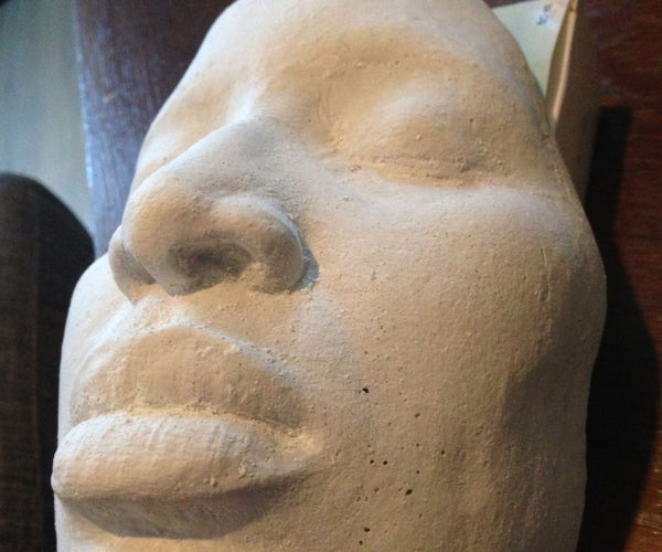 Face Casting (No Silicon or Alginate Needed) Much Cheaper and Faster.