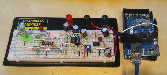 Arduino Seismic Activity Monitor - Ethernet Shield