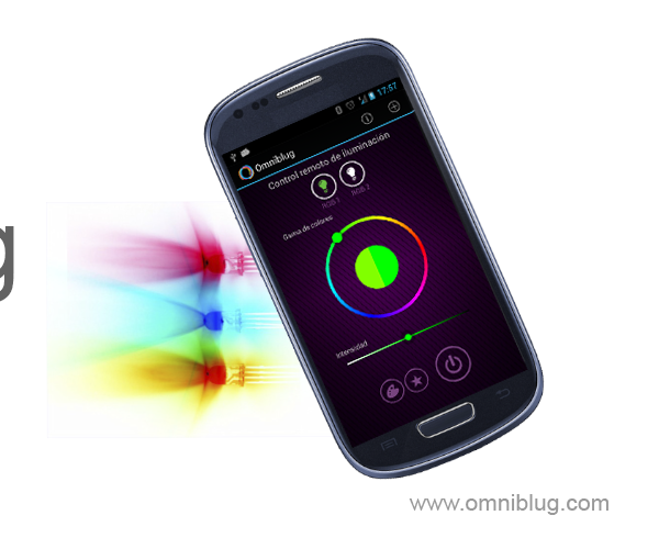 Android Bluetooth Control Led RGB