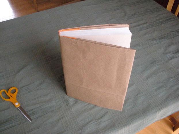 No tape book cover